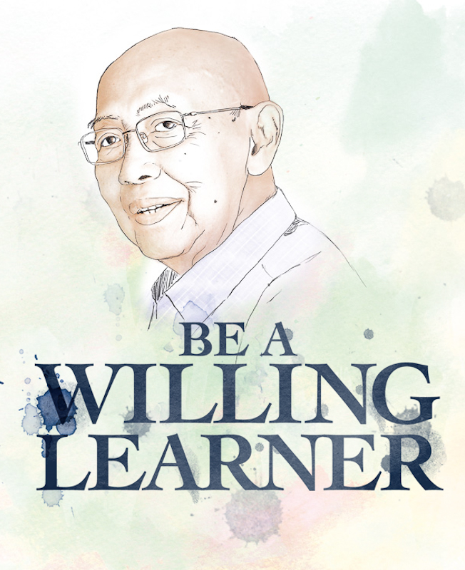 Be a Willing Learner by Ridzwan Dzafir