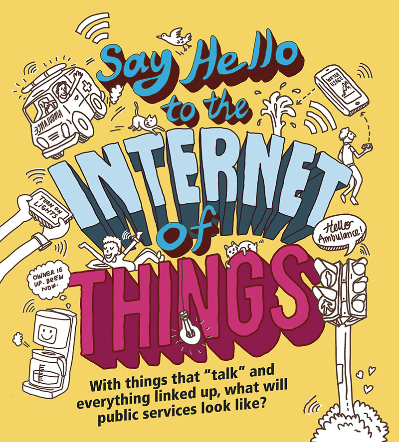 Say Hello To The Internet Of Things