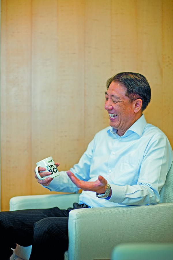 Teo Chee Hean Cuppa