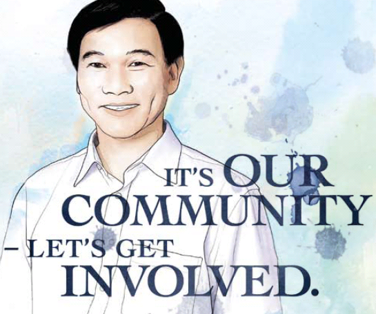 It's Our Community – Let's Get Involved by Yam Ah Mee