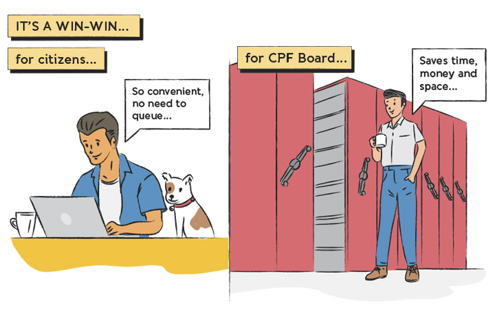 The digitalisation of CPF nominations is a win for both citizens and the CPF Board.