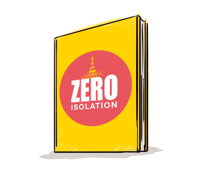 "Book with the title ""Zero Isolation"""