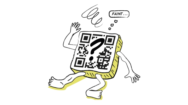 Humour QR codes article image