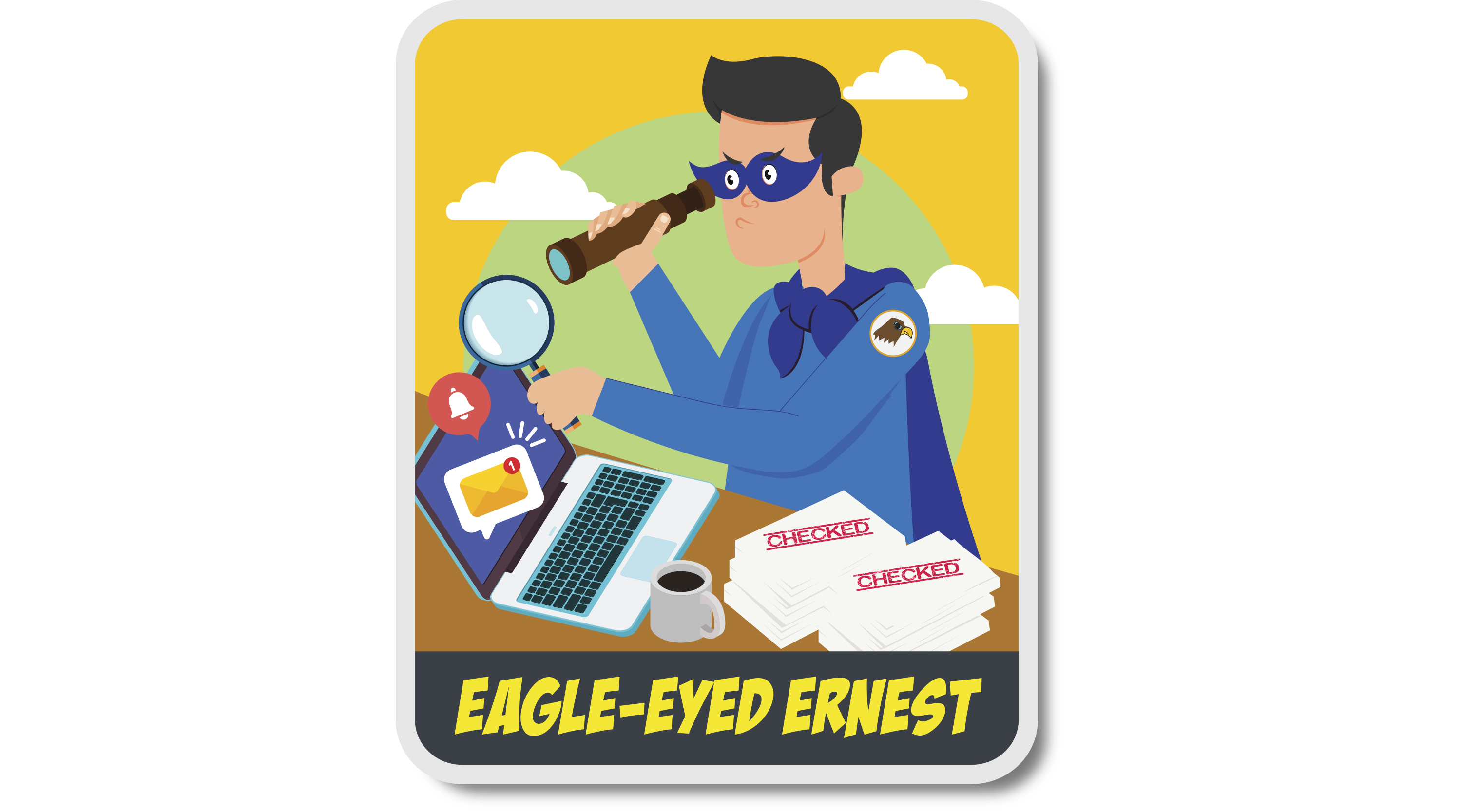 Maybe you're more like eagle-eyed Ernest,  a detail-oriented person who takes time to scrutinise government-related eDMs.