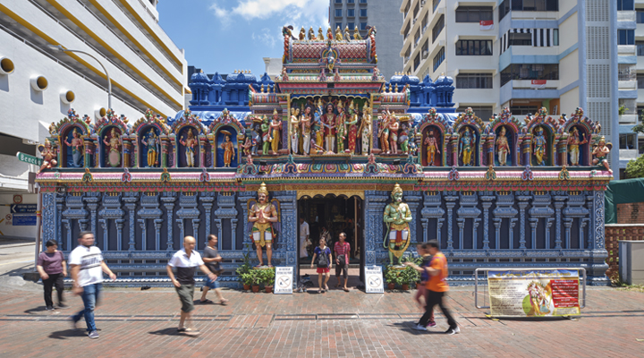 Sri Krishnan Temple at Waterloo Street