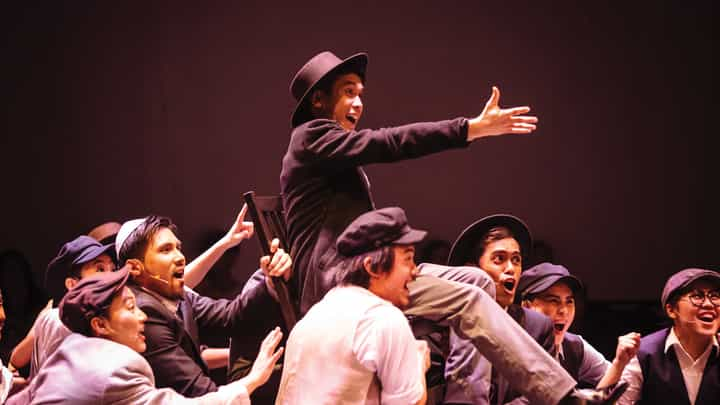 LASALLE's production Fiddler on the Roof was a showcase by Level 2 and 3 students from the Musical Theatre Programme.